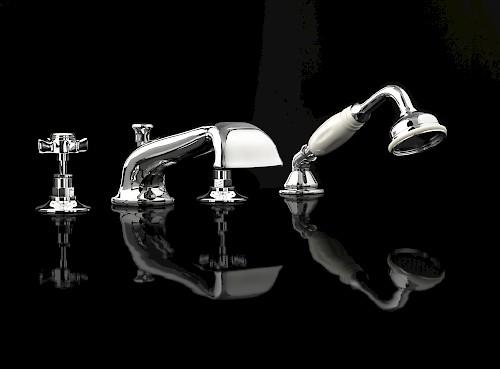 Coventry Devon Devon смеситель для ванны на бортный цвет хром