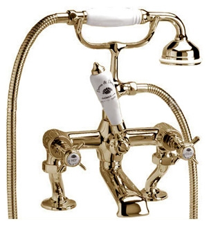 Coventry Devon Devon смеситель для ванны на бортный или напольный цвет золото